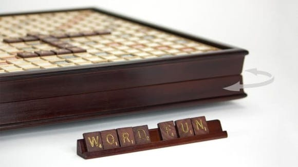 The best gifts for men: Scrabble Deluxe Edition