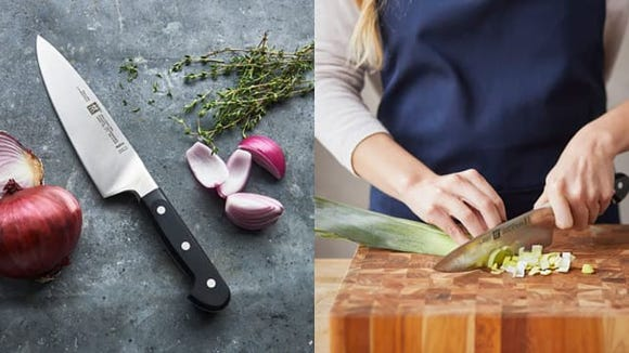 One good chef's knife can replace every other knife in your kitchen.