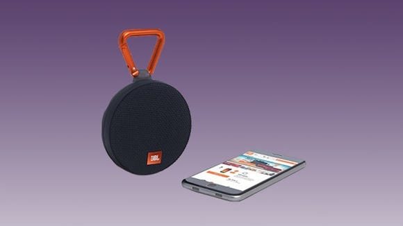 Best gifts under $50: JBL Clip 2 Bluetooth speaker