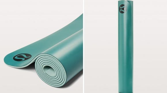 Best health and fitness gifts 2018: lululemon reversible yoga mat
