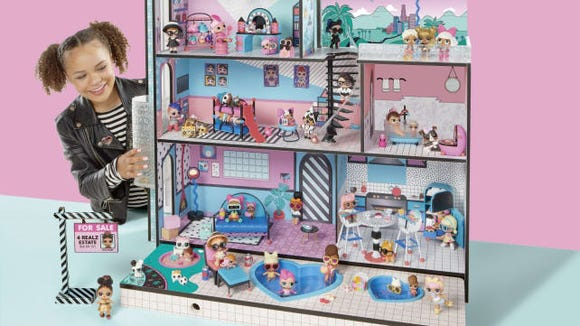 This is no regular dollhouse.
