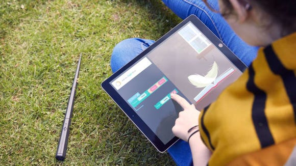 A magical wand that teaches coding? Sign us up!