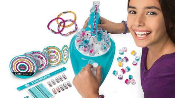 This cool gadget makes friendship bracelets in minutes.