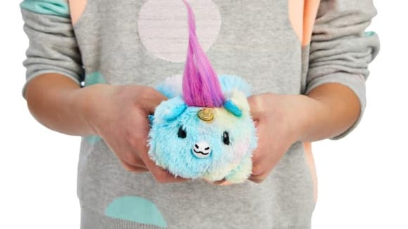 These cute little plushies are reversible—and scented.