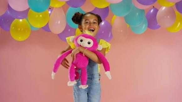 These cute, interactive monkeys will keep young kids entertained.