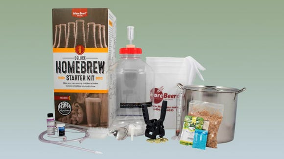 Best gifts for dad: MoreBeer home brewing kit