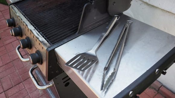 OXO Stainless-Steel Locking Tongs
