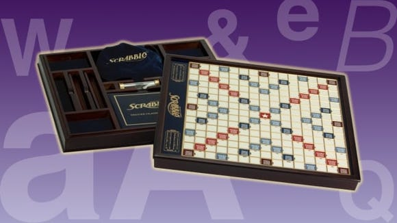 Best gifts for dad: Winning Solutions Scrabble Deluxe wooden edition