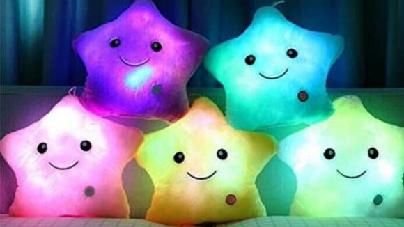 Gifts for kids 2018 Light Up Plush Pillow
