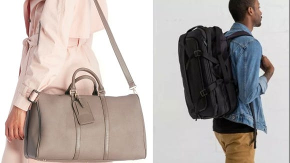 The best gifts for travelers: Timbuk2 and Sole Society overnighters