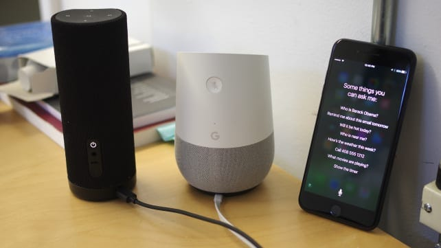 Amazon Tap, Google Home, and Siri walk into a bar...