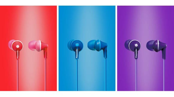 Panasonic ErgoFit In-Ear Headphones