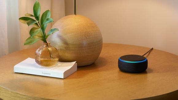 The Echo Dot has a snazzy new look.