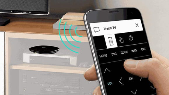 This hub turns your smartphone into the ultimate remote control.