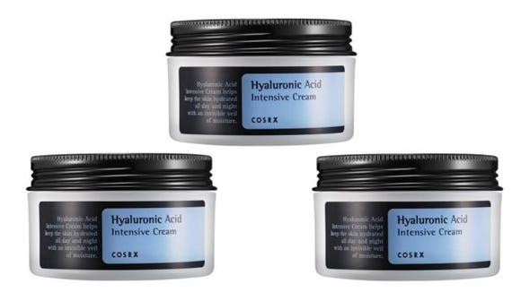 Cosrx Hyaluronic Acid Cream Containers