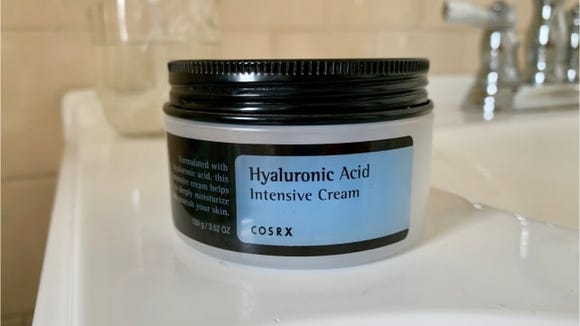 Cosrx Hyaluronic Acid Cream on Sink