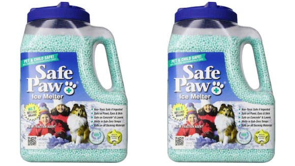This ice salt is non-toxic for pets.