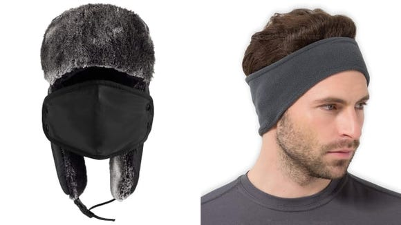 Protect your head, ears, mouth, and more with this cozy gear.