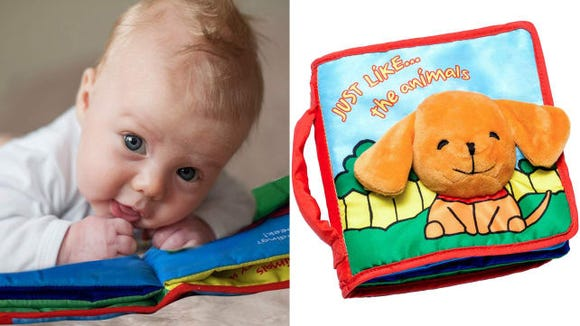 ToBo ReadyForLife Cloth Baby Book