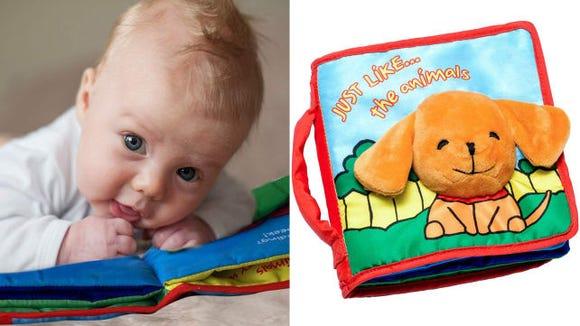 ToBo ReadyForLife Cloth Baby Book