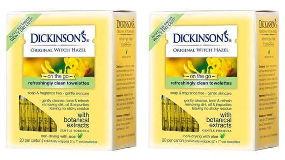 Dickinson's Witch Hazel Towelettes