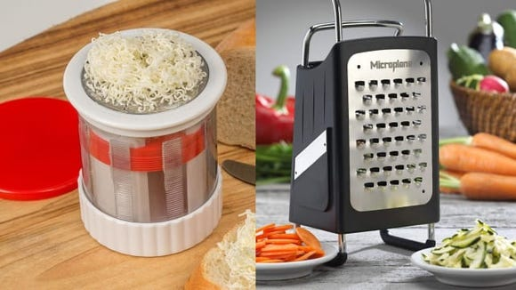 Butter grater vs. box grater