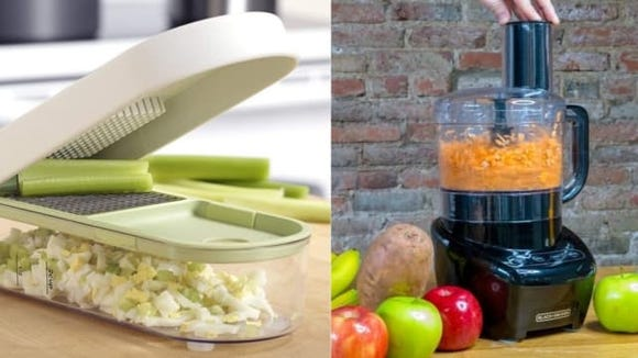Vegetable Chopper vs. Food Processor