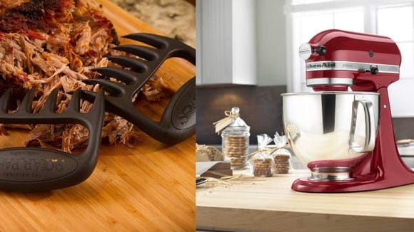 Meat claw vs. stand mixer