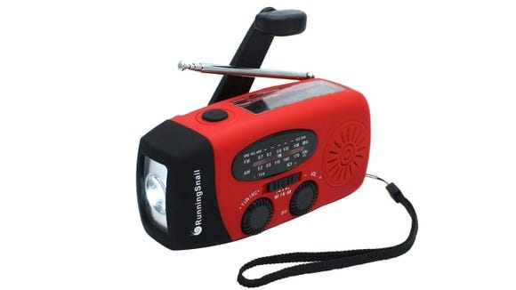 RunningSnail Emergency Hand Crank Radio
