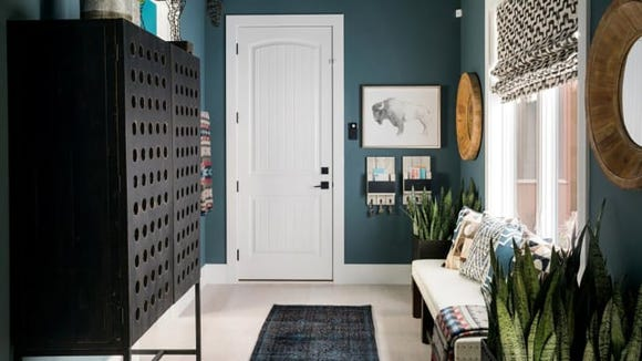 Who said an entryway had to be boring?