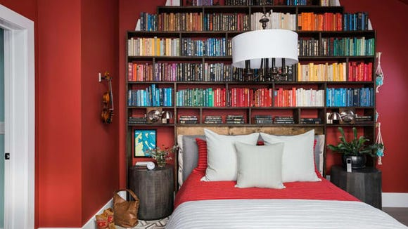 HGTV Dream Home Red Guest Room