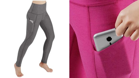 ODODOS High-Waisted Out Pocket Yoga Pants