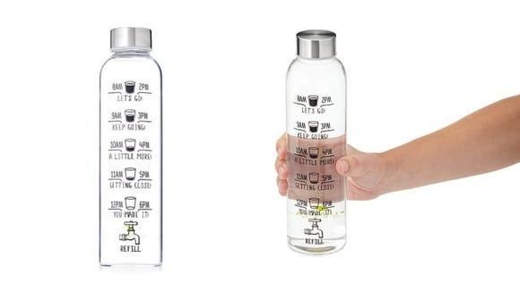 Uncommon Goods Drink More Water Bottle