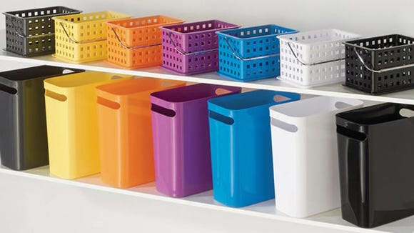 InterDesign Una Trash Bin