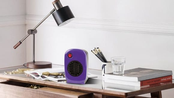 If you're always freezing in the office, stop complaining to HR and invest in a desk-sized space heater so you're always comfortable.