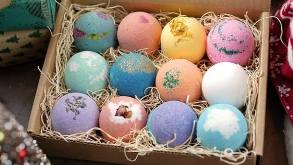 These beautiful bath bombs are a hit with reviewers.