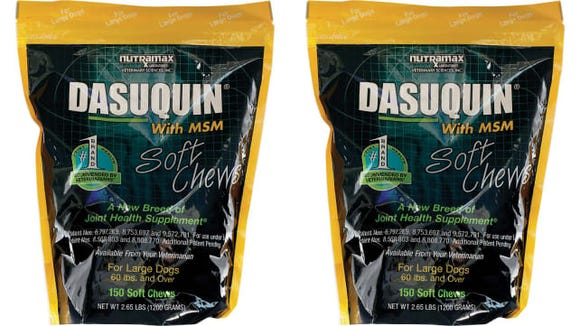 Nutramax Dasuquin with MSM Soft Chews Joint Health Large Dog Supplement
