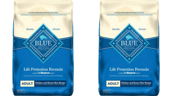 Blue Buffalo Adult Chicken & Brown Rice Recipe Dry Dog Food