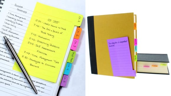 Redi-Tag Divider Sticky Notes