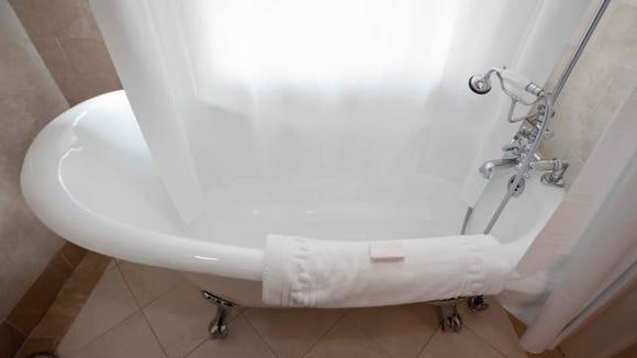 Epica Mildew-Resistant Shower Curtain Liner