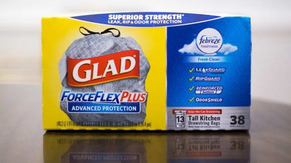 Glad ForceFlexPlus Tall Kitchen Trash Bags