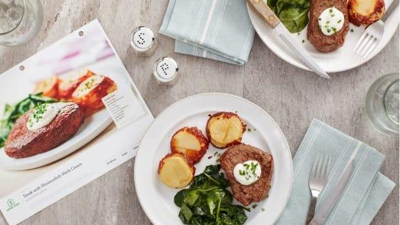 Home Chef Customize Steak