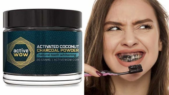 This charcoal powder can help you get a brighter smile.