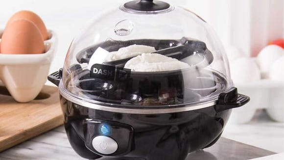 Your favorite eggs made easy with this simple egg cooker.