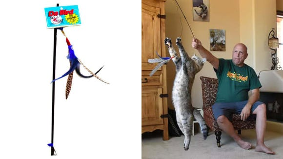 Go Cat Da Bird Cat Toy