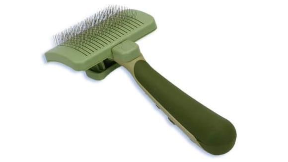Safari Cat Self-Cleaning Slicker Brush