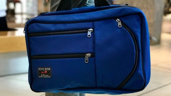 Finally, a carry-on bag that fits your clothes and under your seat.