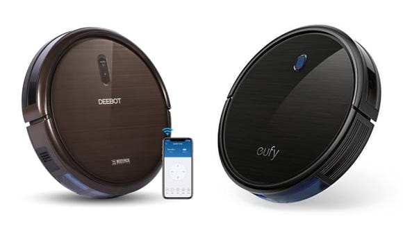 Ecovacs and Eufy Robot Vacuums