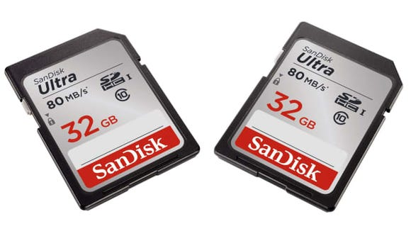 With prices this low, you might as well stock up on extra memory cards.