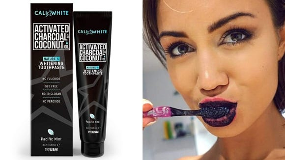 Cali White Activated Charcoal Teeth Whitening Toothpaste